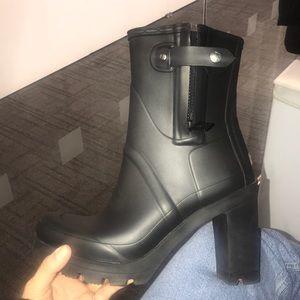Hunter Original Heel Rain Boots